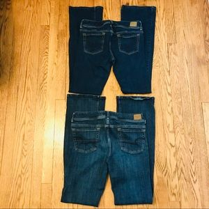 American Eagle Original Boot Jeans Bundle 12L F12